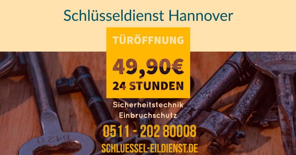 Türöffnung Schluesseldienst Hannover
